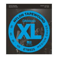Photo D'ADDARIO ETB92S TAPEWOUND BASS MEDIUM 50/105 SHORT SCALE