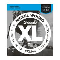 Photo D'ADDARIO EXL148 NICKEL WOUND EXTRA-HEAVY 12/60