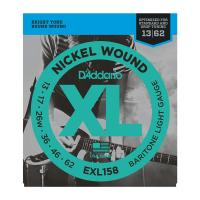 Photo D'ADDARIO EXL158 NICKEL WOUND BARITONE LIGHT 13/62