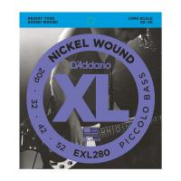 Photo D'ADDARIO EXL280 NICKEL WOUND PICCOLO BASS 20/52 LONG SCALE