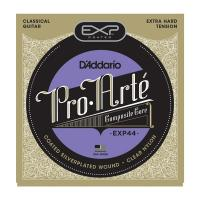 Photo D'ADDARIO EXP44 COATED EXTRA-HARD TENSION SILVER/NYLON