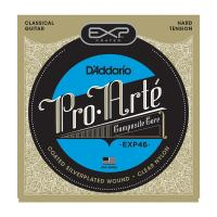 Photo D'ADDARIO EXP46 COATED HARD TENSION SILVER/NYLON