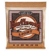 Photo ERNIE BALL ACOUSTIC 2148 EARTHWOOD PHOSPHOR BRONZE 11/52