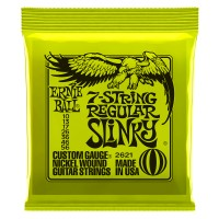 Photo ERNIE BALL ELECTRIC 2621 REGULAR SLINKY 7-STRING 10/56