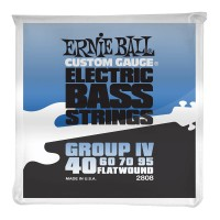 Photo ERNIE BALL BASS 2808 FLATWOUND GROUP IV 40/95