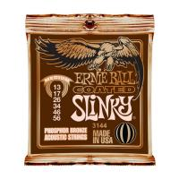 Photo ERNIE BALL ACOUSTIC 3144 COATED PHOSPHORE BRONZE RPS 13/56