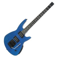 Photo STEINBERGER ZT3 TRANS TREM CUSTOM OUTFIT TRANS BLUE