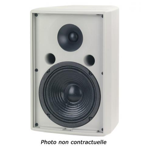 MARTIN AUDIO AQ6 ENCEINTE 6.5 / 100W AES + MOTEUR 1 NOIRE