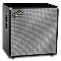 "Photo AGUILAR DB410-CB8 - BAFFLE 4X10"" CLASSIC BLACK 700 WATTS / 8 OHMS"