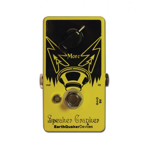 EARTHQUAKER DEVICES - SPEAKER CRANKER OVERDRIVE