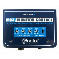 Photo RADIAL MC3 - DISTRIBUTEUR DE SIGNAL POUR LE MONITORING