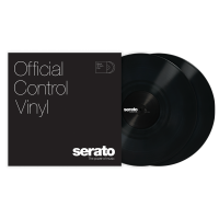 Photo SERATO VINYL CONTROL TONE BLACK (LA PAIRE)