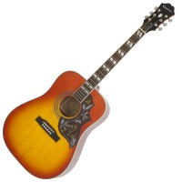 Photo EPIPHONE HUMMINGBIRD PRO FADED CHERRY