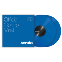 Photo SERATO VINYL CONTROL TONE BLUE (LA PAIRE)