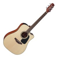 Photo TAKAMINE P2DC ELECTRO CUTAWAY NATURAL SATIN