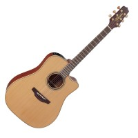 Photo TAKAMINE P3DC ELECTRO CUTAWAY NATURAL SATIN