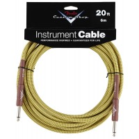 Photo FENDER CABLE CUSTOM SHOP PERFORMANCE TWEED JACK/JACK - 6M