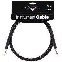 Photo FENDER CABLE SERIE CUSTOM SHOP PERFORMANCE TWEED BLACK 1.52M