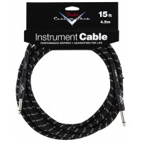 Photo FENDER CABLE SERIE CUSTOM SHOP PERFORMANCE TWEED BLACK 4.57M