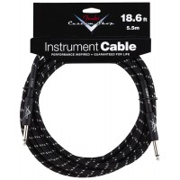 Photo FENDER CABLE SERIE CUSTOM SHOP PERFORMANCE TWEED BLACK 5.67M