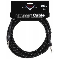 Photo FENDER CABLE SERIE CUSTOM SHOP PERFORMANCE TWEED BLACK 6.10M