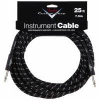 Photo FENDER CABLE SERIE CUSTOM SHOP PERFORMANCE TWEED BLACK 7.62M