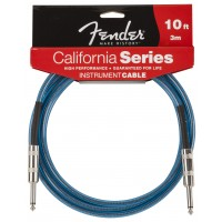 Photo FENDER CABLE SERIE CALIFORNIA LAKE PLACID BLUE 3.05M