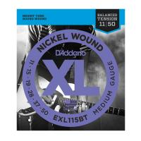 Photo D'ADDARIO EXL115BT BALANCED TENSION MEDIUM 11-50