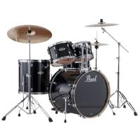 "Photo PEARL EXPORT ROCK 22"" JET BLACK 5 FÛTS"