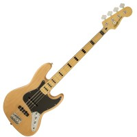 Photo SQUIER VINTAGE MODIFIED JAZZ BASS '70S NATURAL