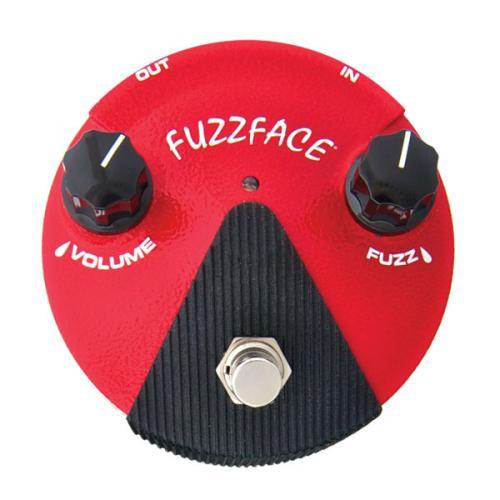 DUNLOP FFM2 - FUZZ FACE GERMANIUM MINI RED