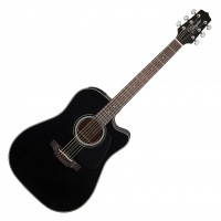 Photo TAKAMINE GD30CE-BLK ELECTRO CUTAWAY BLACK