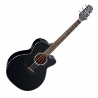 Photo TAKAMINE GN30CE-BLK ELECTRO CUTAWAY BLACK