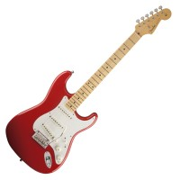 Photo FENDER VINTAGE HOT ROD '50 STRATOCASTER FIESTA RED MN