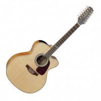 Photo TAKAMINE GJ72CE-12NAT ELECTRO CUTAWAY NATURAL 12 CORDES