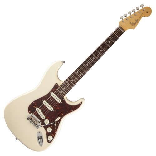 FENDER VINTAGE HOT ROD '60 STRATOCASTER OLYMPIC WHITE RW