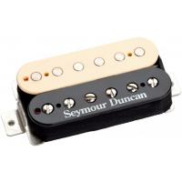 Photo SEYMOUR DUNCAN '59 CUSTOM HYBRID BRIDGE REVERSE ZEBRA - SH16RZ