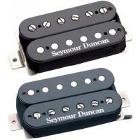 Photo SEYMOUR DUNCAN KIT DUNCAN DISTORTION BLACK - SH-6S