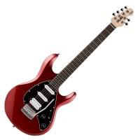 Photo STERLING BY MUSIC MAN SUB SILO3 HSS METALLIC RED