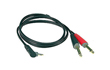 Photo KLOTZ CABLE MINI JACK COUDE /2 JACK 3M