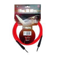 Photo KLOTZ KIK30PPRT CABLE KIK JACK/JACK ROUGE - 3M