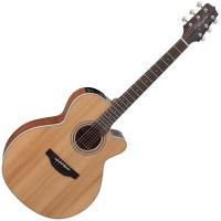 Photo TAKAMINE GN20CE-NS ELECTRO CUTAWAY NATURAL SATIN