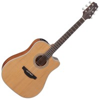 Photo TAKAMINE GD20CE-NS ELECTRO CUTAWAY NATURAL SATIN