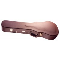Photo GATOR GW-LP-BROWN ETUI BOIS MARRON GUITARE ELECTRIQUE