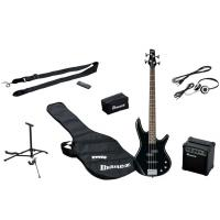 Photo IBANEZ IJSR190-BK JUMPSTART - PACK BASSE ELECTRIQUE BLACK