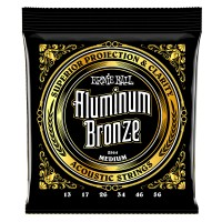 Photo ERNIE BALL ACOUSTIC 2564 ALUMINIUM BRONZE 13/56