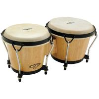 Photo LP CP TRADITIONAL BONGOS NATURAL WOOD