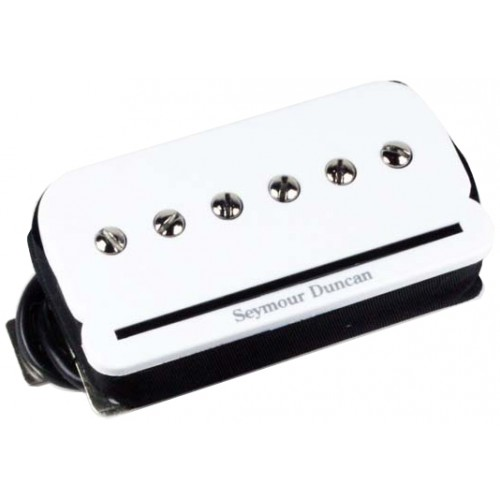SEYMOUR DUNCAN P-RAILS NECK WHITE - SHPR-1NW