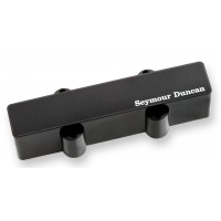 Photo SEYMOUR DUNCAN STACK JAZZ BASS 5 BRIDGE BLACK - SJB-5B
