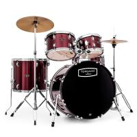 Photo TORNADO BY MAPEX KIT FUSION 20 BORDEAUX